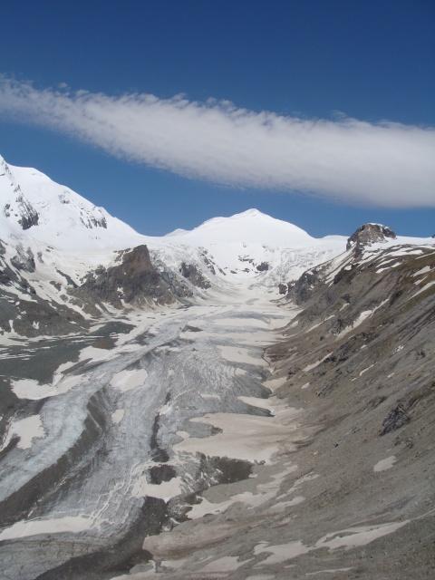 Grossglocknerský ledovec