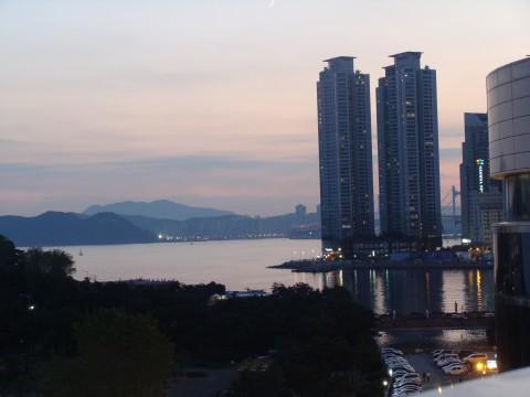 Podvečerní Pusan