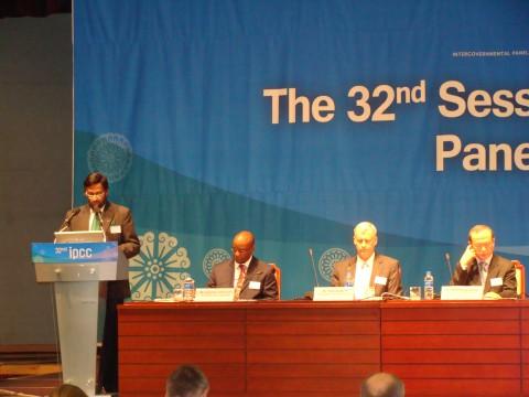 Zahájení 32. Zasedání IPCC