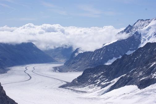 Ledovec Grindelwaldgletscher