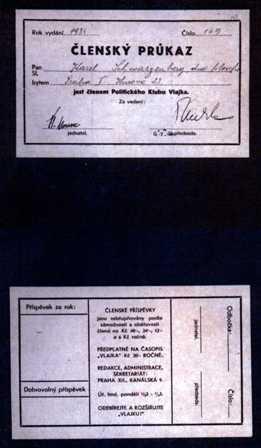 Členský průkaz