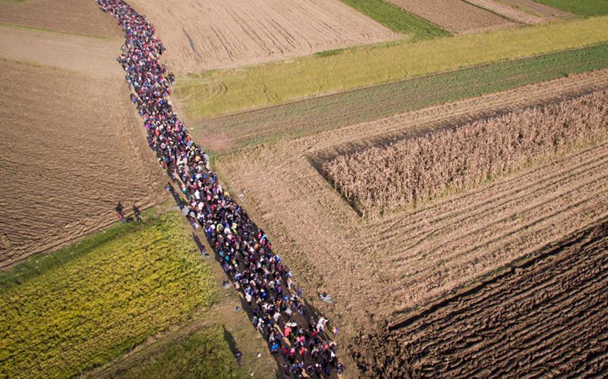 Cestou poli, háji a lukami, v srdci Evropy