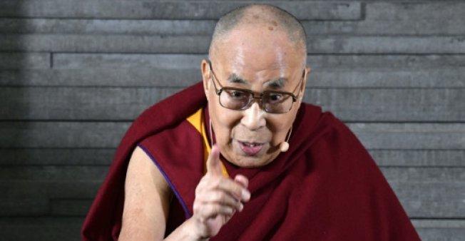 14. dalajláma, Malmö, 12.9.2018 AFP