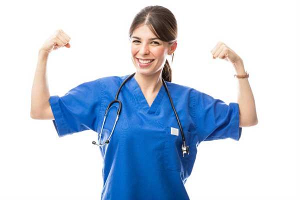 Lékaři a sestry to dokáží!