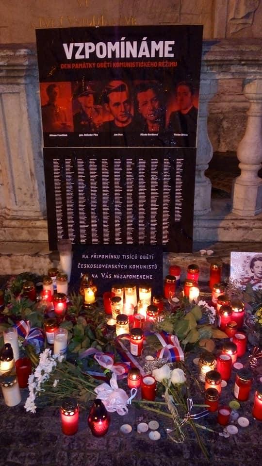 Svíčka od Společně to dáme v Brně