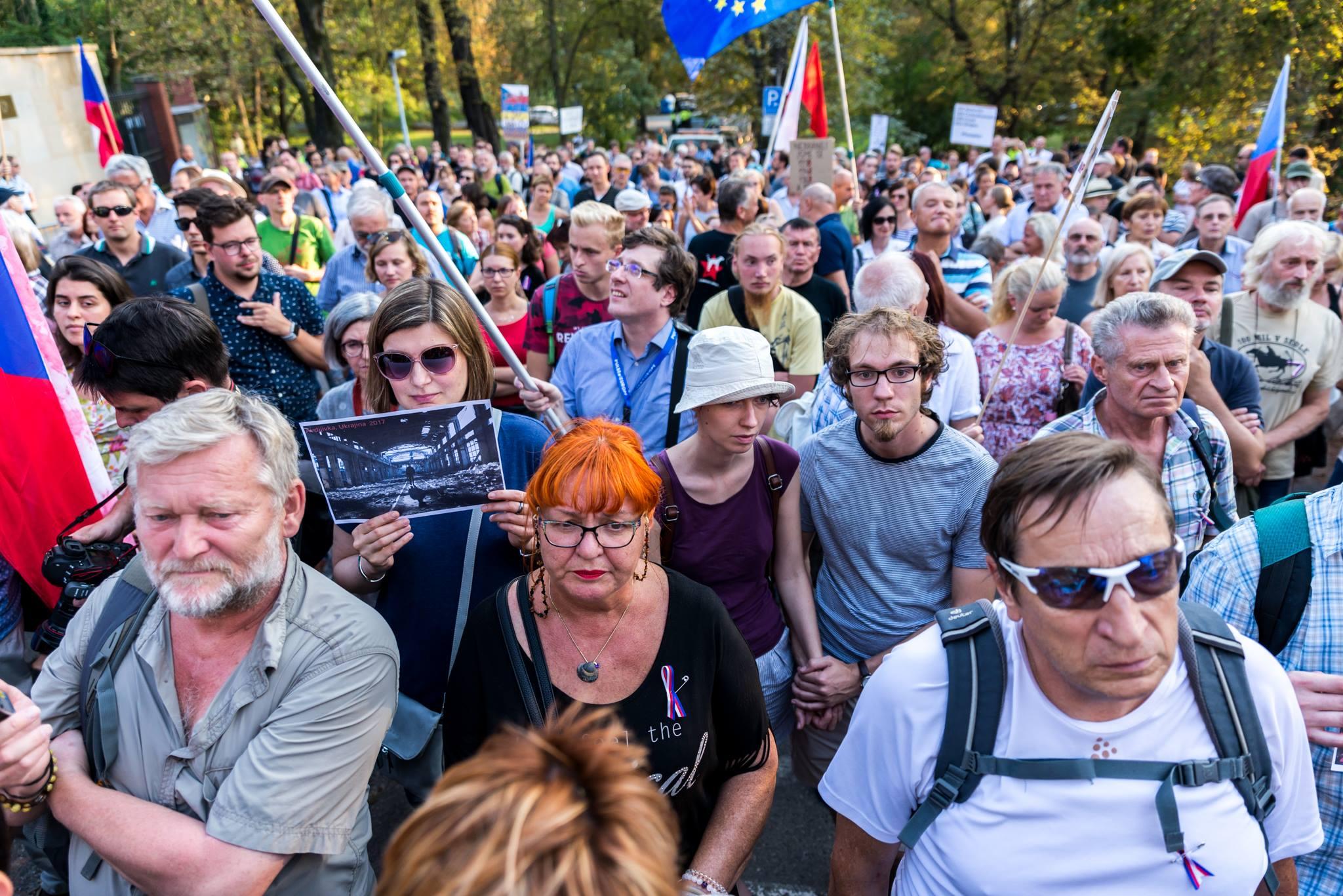 Děkujeme, že jste přišli, foto Jana Plavec
