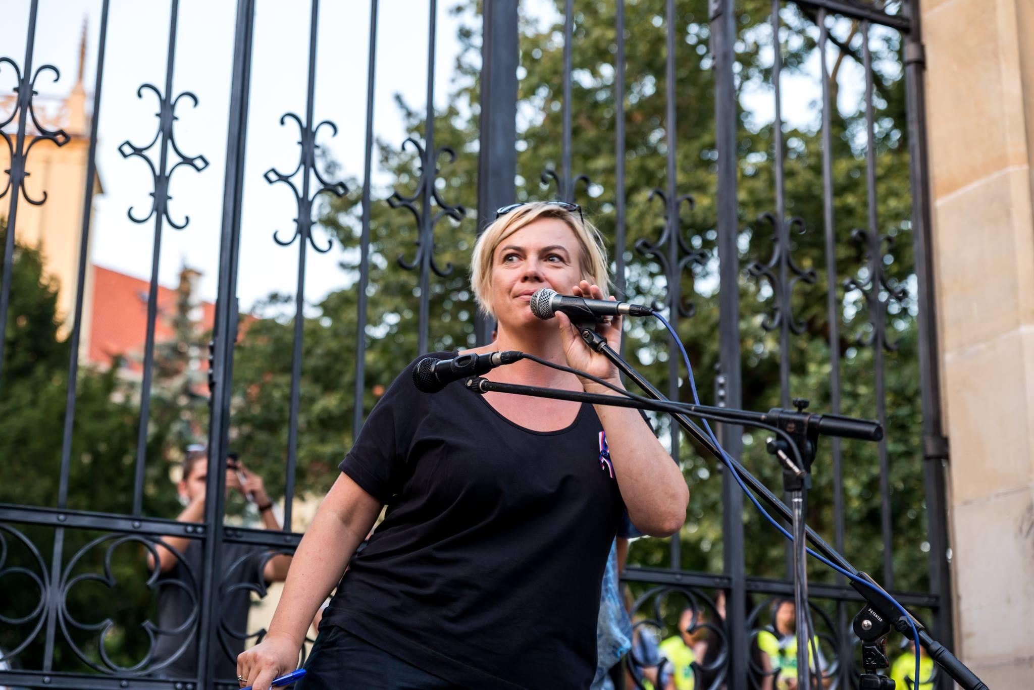 Alena Švejnohová, spoluzakladatelka FB skupiny Společně to dáme, foto Jana Plavec