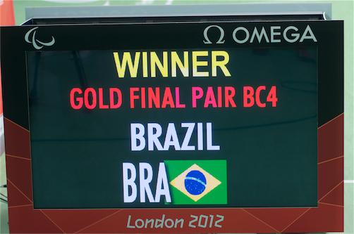 Vítězí Brazilci