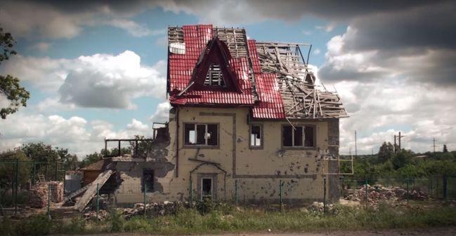 """Záběr z filmu Lydie Sarodubcevové """"Náměstí Ukrajina"""""""