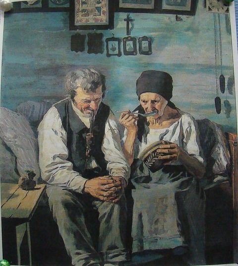 Jaroslav Špillar (1904): Starobní důchodci (korektní přejmenování původně nekorektního názvu Výměnkáři)