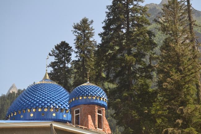 Nová mešita v horách