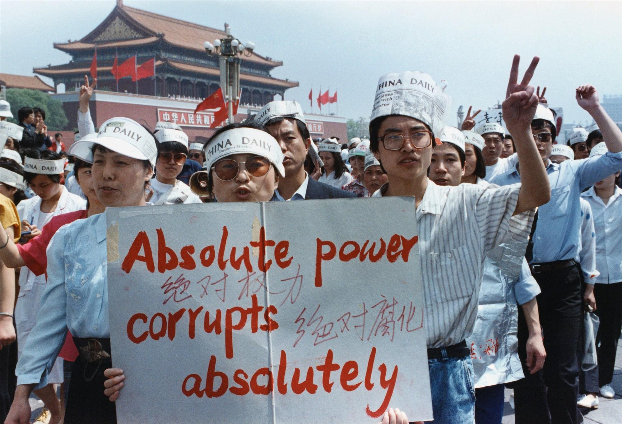 Novináři China Daily na jaře 1989