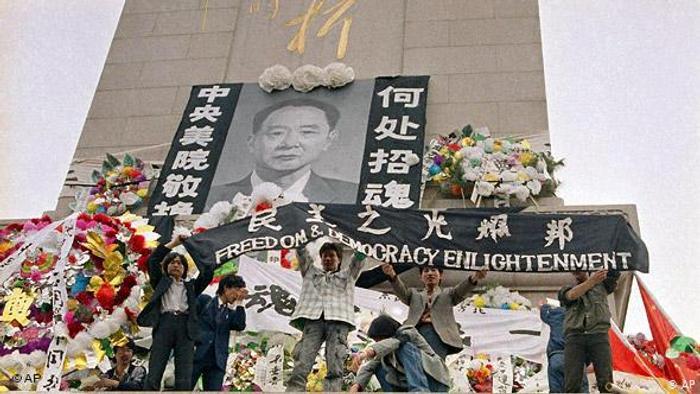 Čínské hnutí roku 1989 připomíná, že po svobodě touží lidé na celém světě. A také, že výsledek revoluce, která u nás ukončila komunistický režim, nebyl samozřejmý.