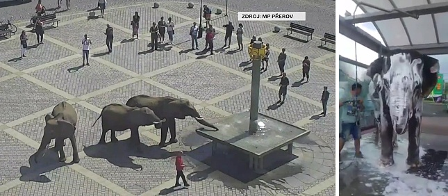 Přerov a Kutná Hora. Česká republika v květnu 2018...