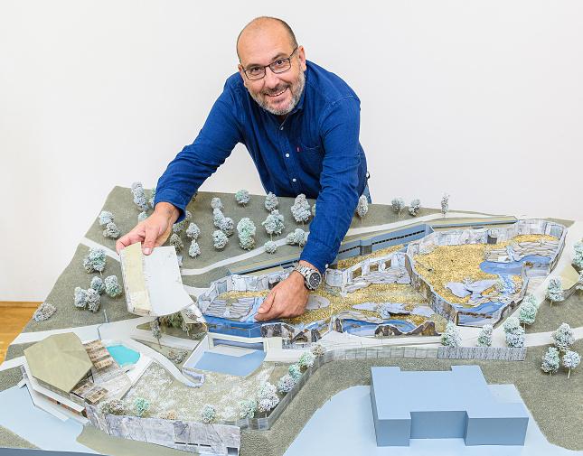 Model plánované expozice Arktida. Foto Khalil Baalbaki