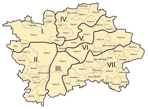 Mapa volebních obvodů