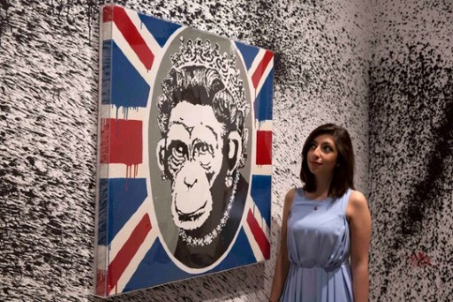 Banksy, zdroj: Reuters