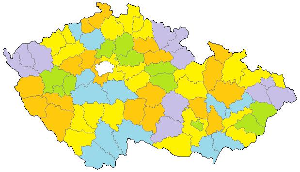 35 malých volebních obvodů