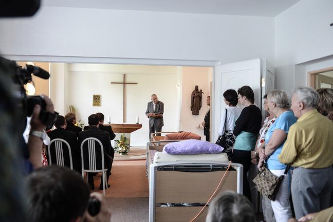 Prezident Zeman se o téma hospiců dlouhodobě zajímá.
