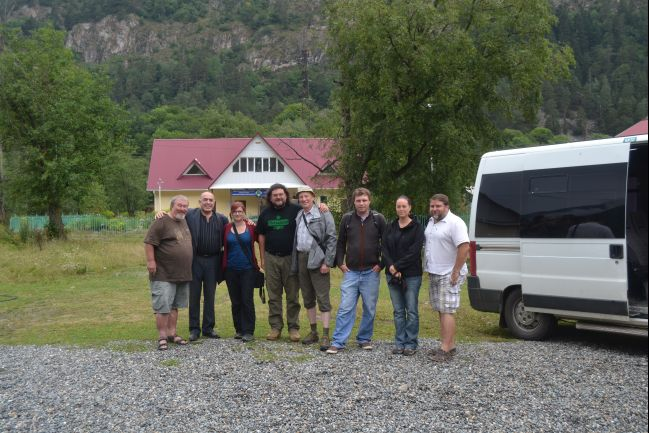Naše expedice s Osmanem Batčajevem