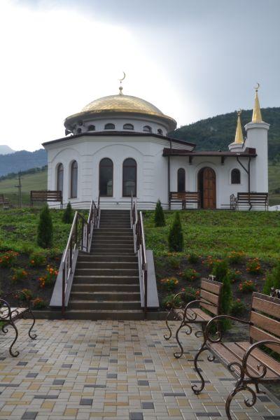 Nově otevřená mešita