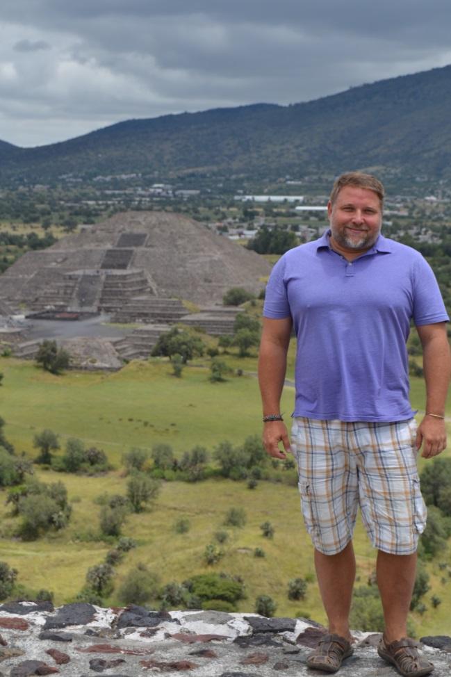 Teotihuacan - Pyramida měsíce