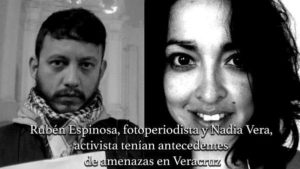 Zavražděná aktivistka a novinář