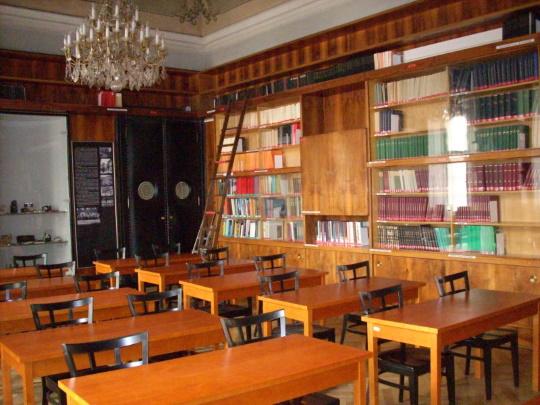 Knihovna Archeologického ústavu v Praze (zdroj: ArÚ Praha, v.v.i)