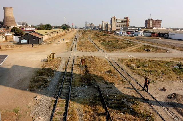 [Lusaka]Centrum města (vpravo)