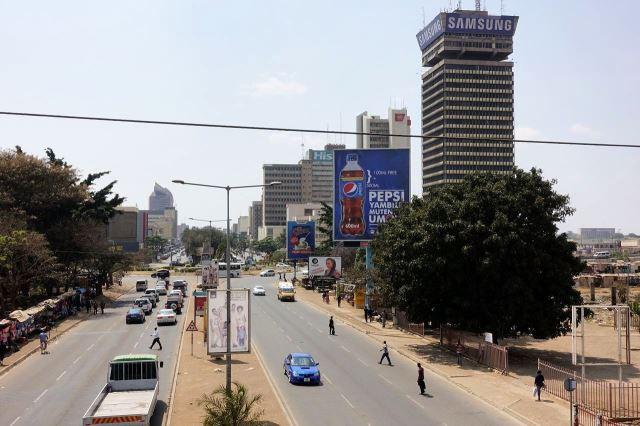 [Lusaka]Hlavní ulice Cairo