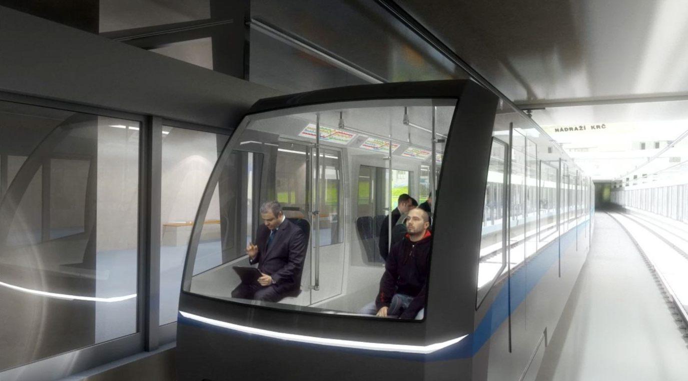 vizualizace Metro D