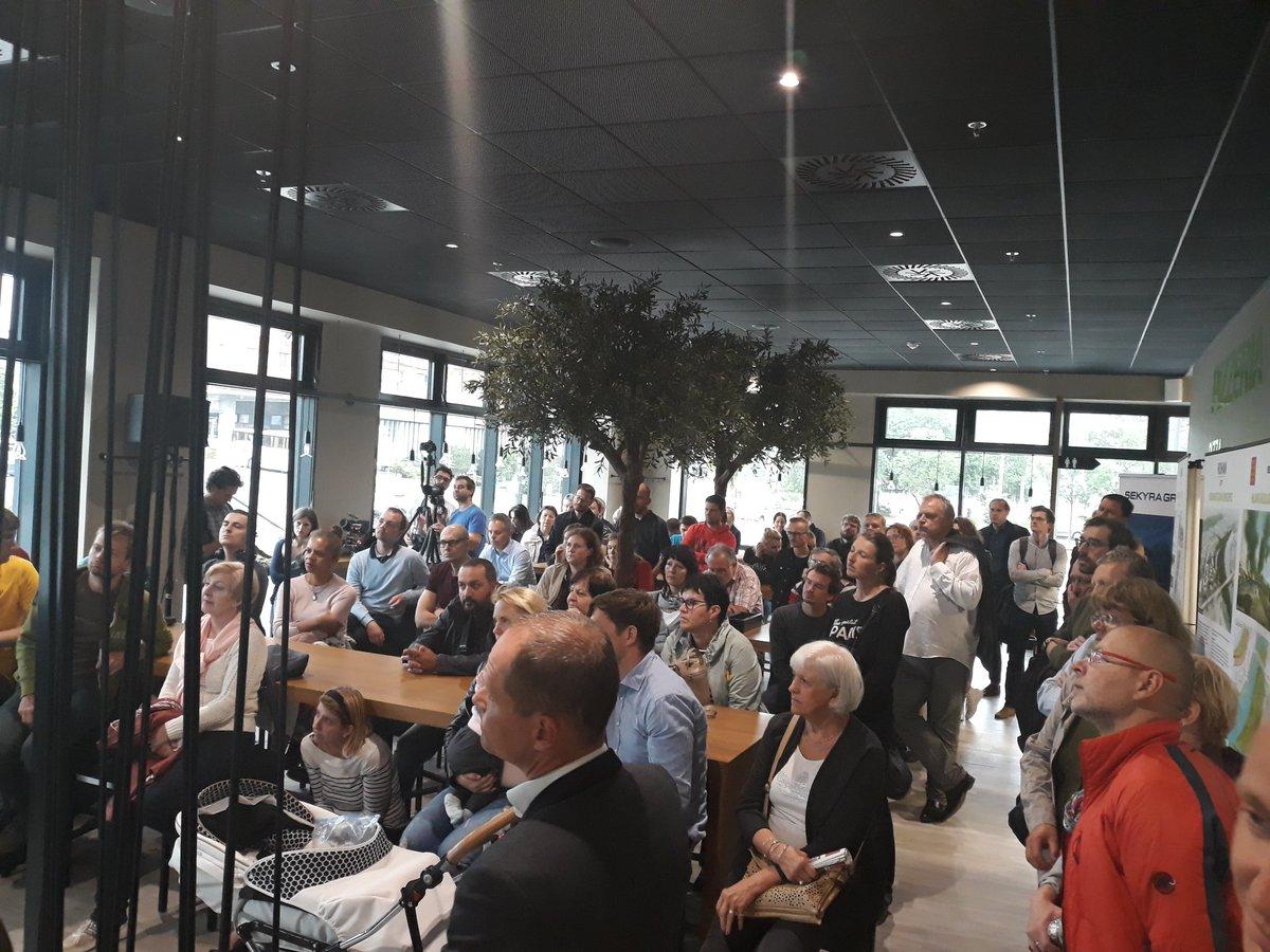 Veřejná debata o projektu na Rohan CIty - restaurace Rustonka - květen 2018