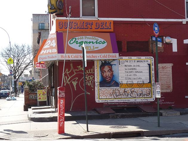 Bed-Stuy, Brooklyn: autor street artu Ibrahim Baaith Yaqut