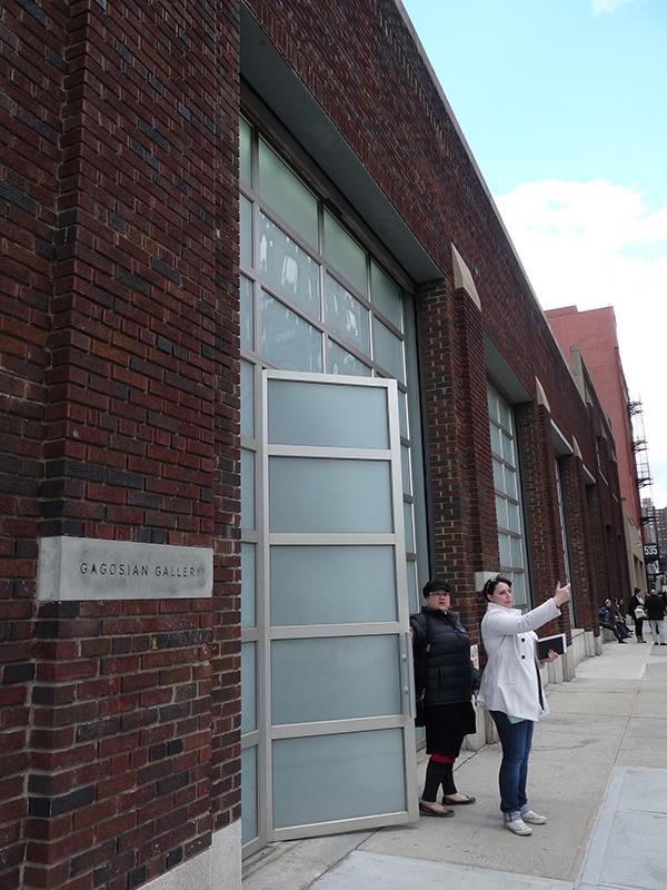 Gagosian Gallery: Diskrétní průčelí s poklady uvnitř