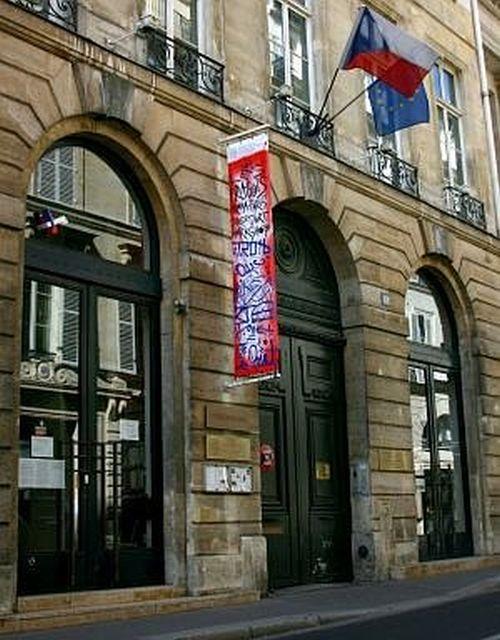 České centrum v Paříži, rue Bonaparte. Foto Tyden.cz
