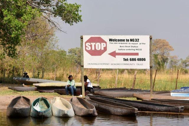 [Okavango Delta]NG 32 je východiskem do delty
