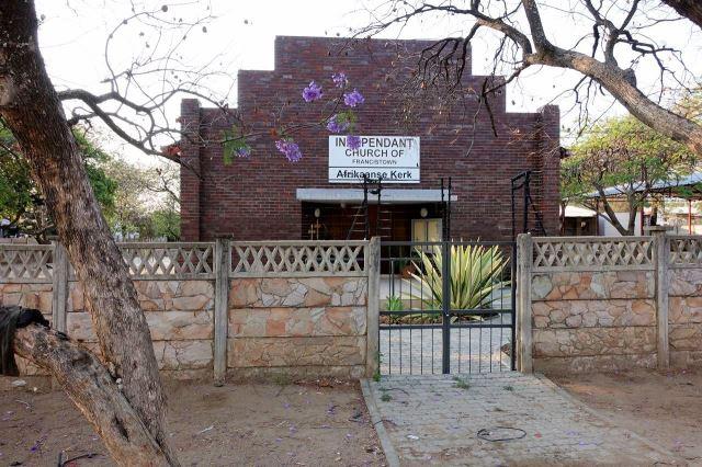 [Francistown]Afrikánský kostel