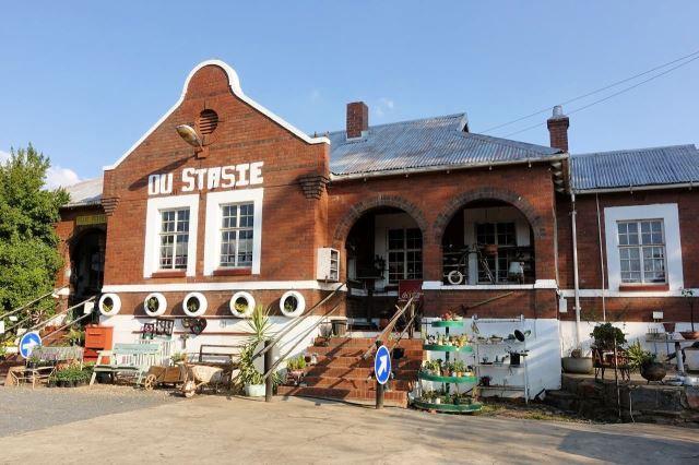 [Swartruggens]Jeden z mála historických domků