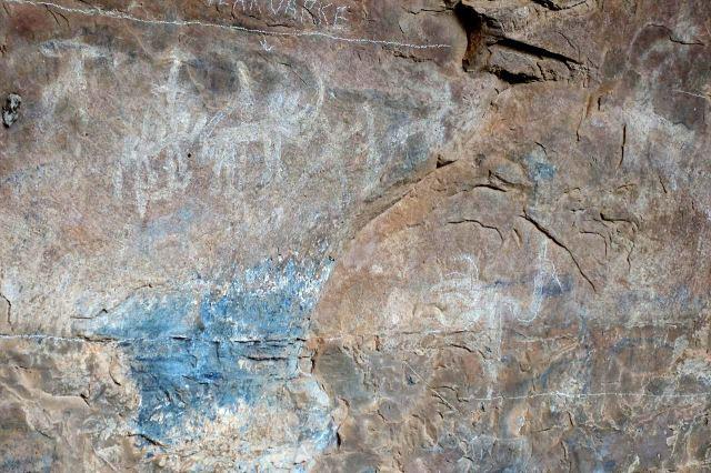 [Echo Caves]Muzeum člověka - křovácké skalní kresby
