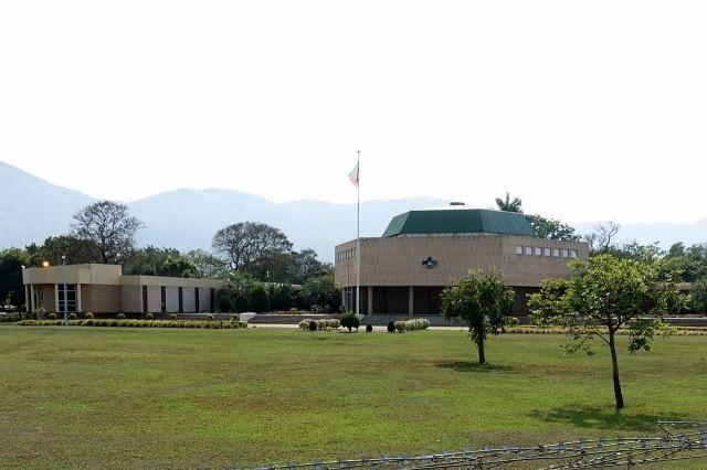 [Lobamba]Budova parlamentu