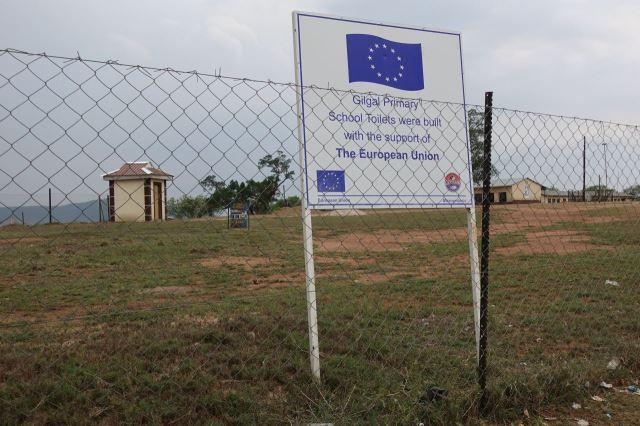 [Gilgal]Školní záchodky byly postaveny s podporou Evropské unie