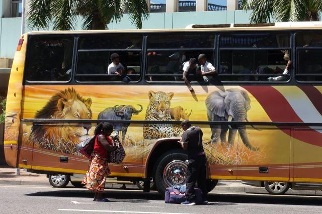 [Durban]Prodavači tlačí dětem na výletě sladké pochutiny a bezcenné cetky