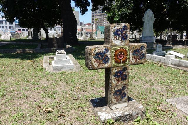 [Durban]West St Cemetery - kříž