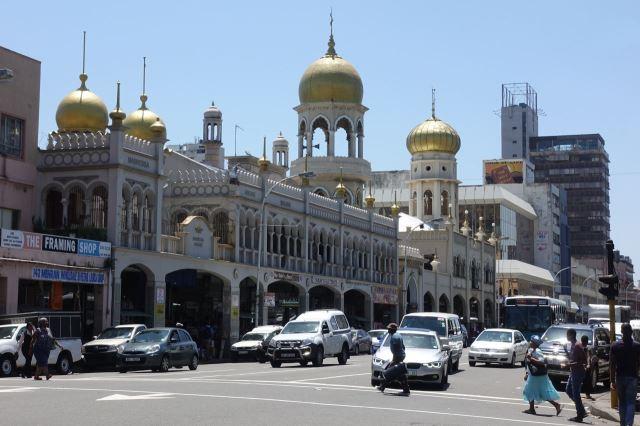 [Durban]Obrázek z města - mešita Juma na West Street