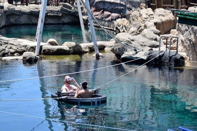 [Durban]uShaka Marine World - radost po prvním ponoru