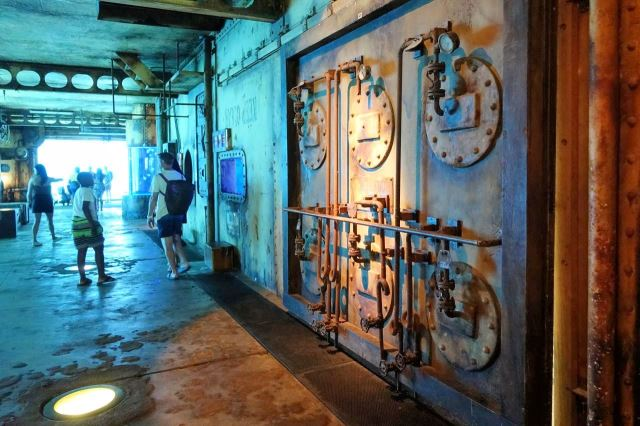 [Durban]uShaka Marine World - akvárium v prostorách staré lodi