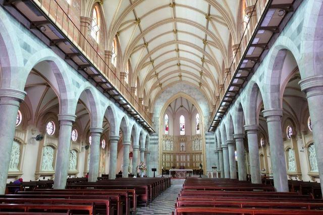 [Durban]Katedrála St. Emmanuel - hlavní loď