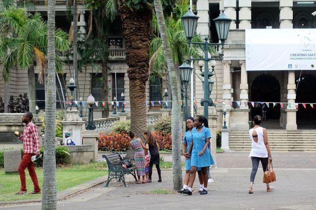 [Durban]Před radnicí