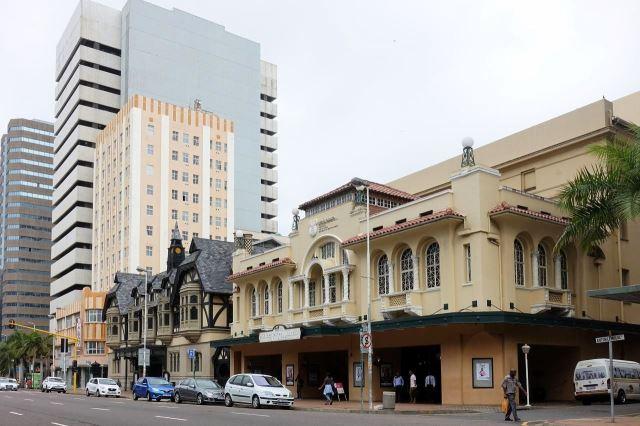 [Durban]Staré koloniální domy