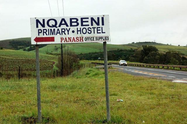 [N2 odbočka na Nqabeni]Tabule mne zmátla - hostel není hostel